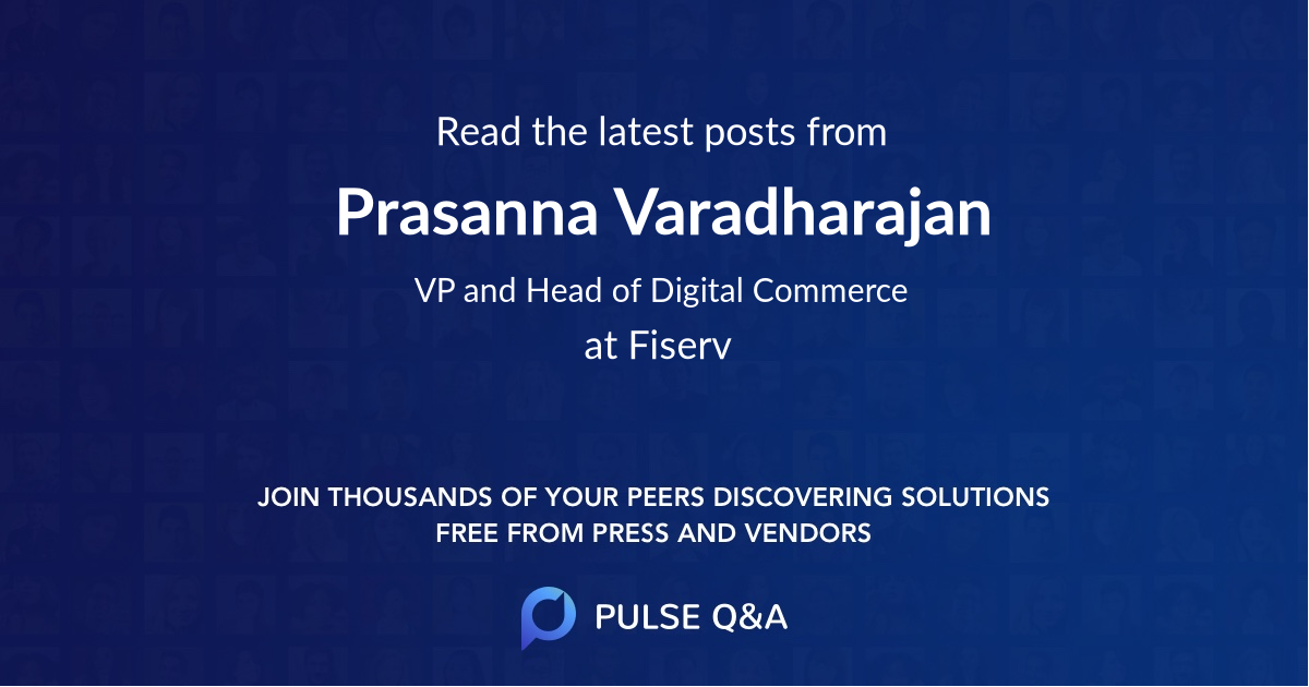 Prasanna Varadharajan
