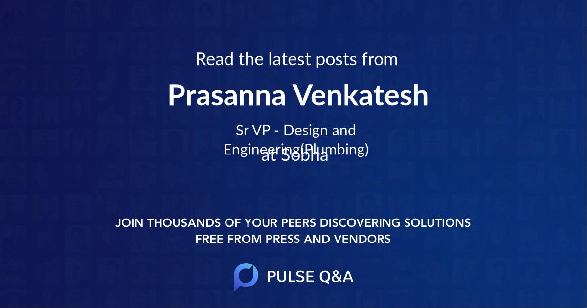 Prasanna Venkatesh