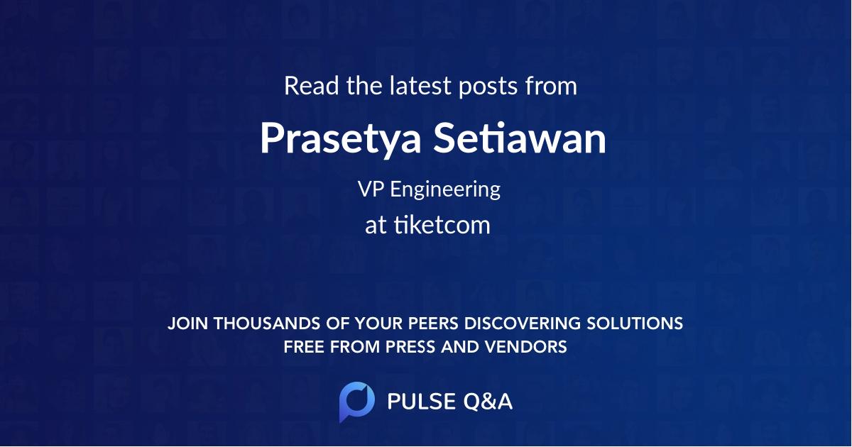 Prasetya Setiawan