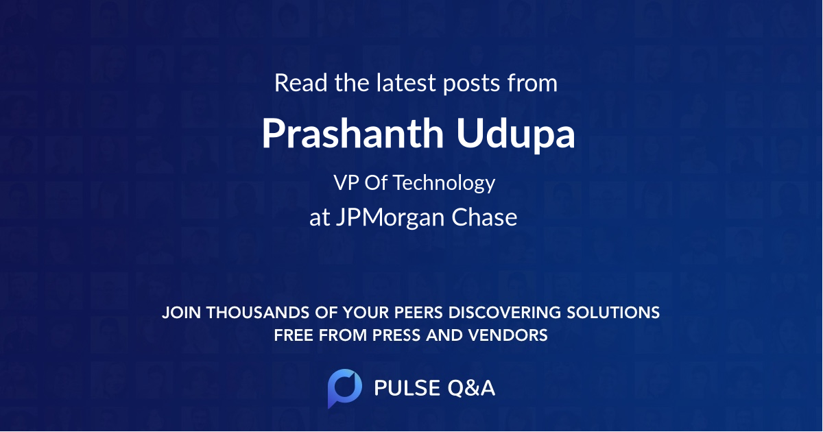 Prashanth Udupa
