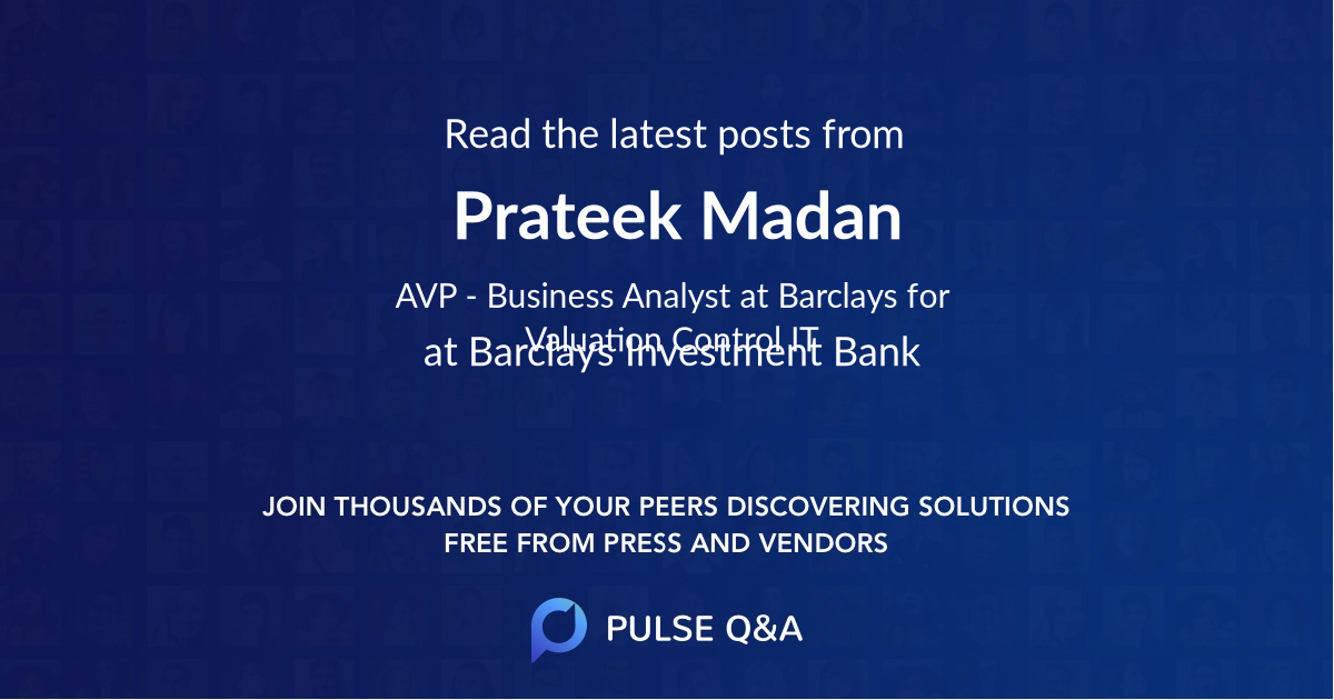 Prateek Madan