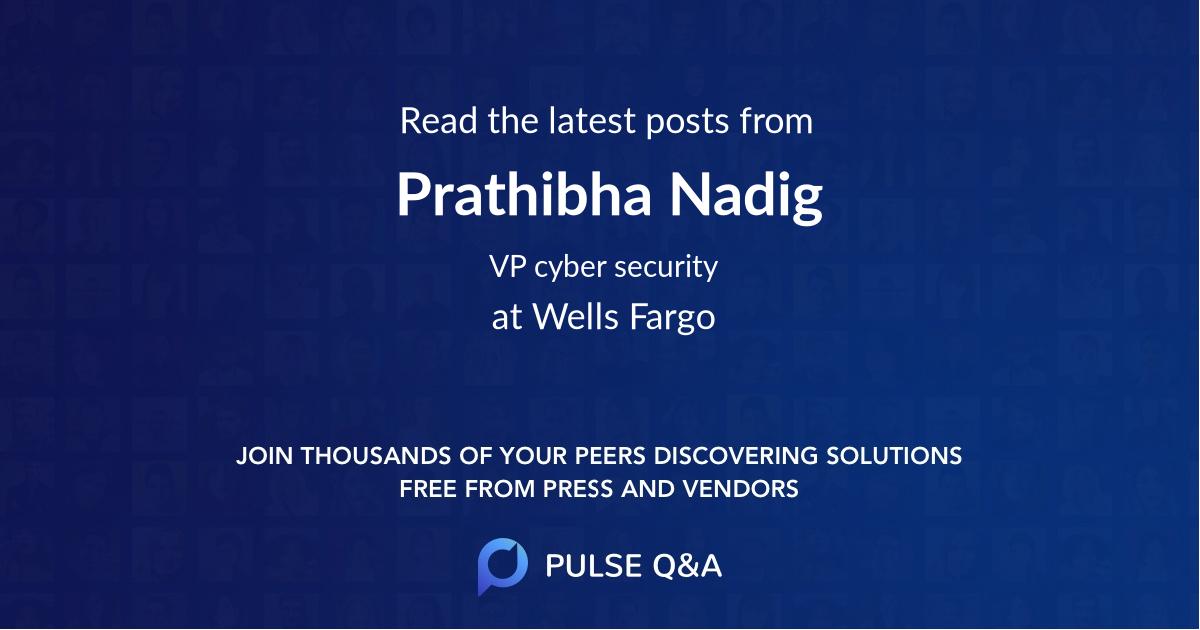 Prathibha Nadig