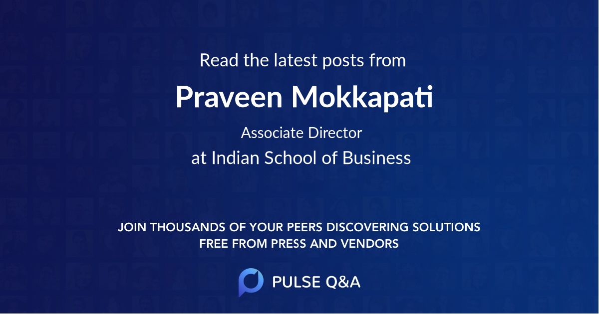 Praveen Mokkapati
