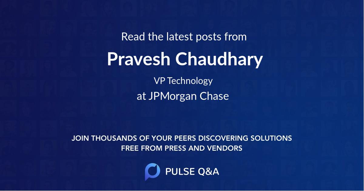 Pravesh Chaudhary