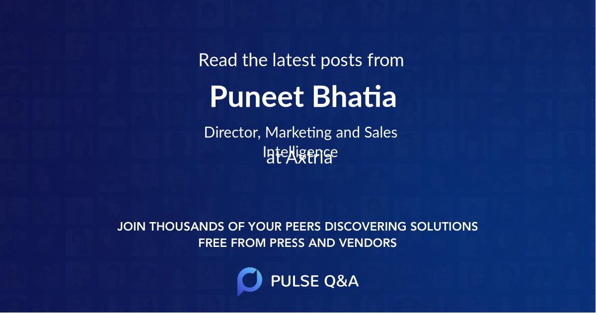 Puneet Bhatia