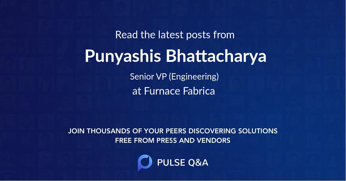 Punyashis Bhattacharya