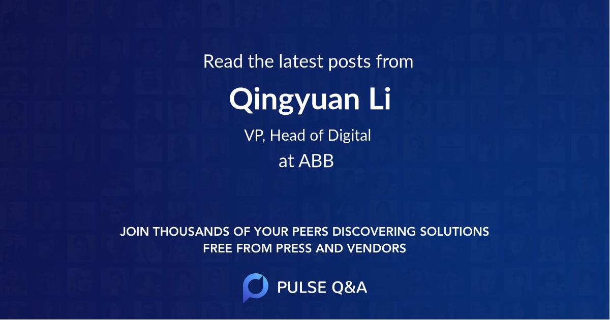 Qingyuan Li