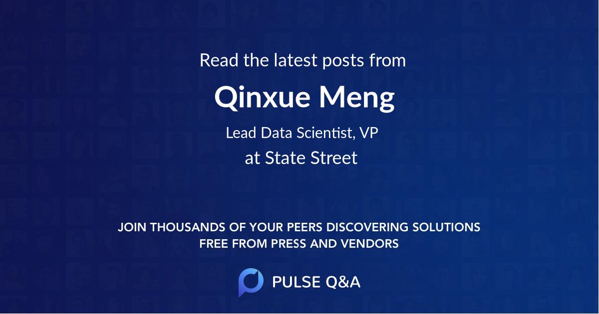 Qinxue Meng