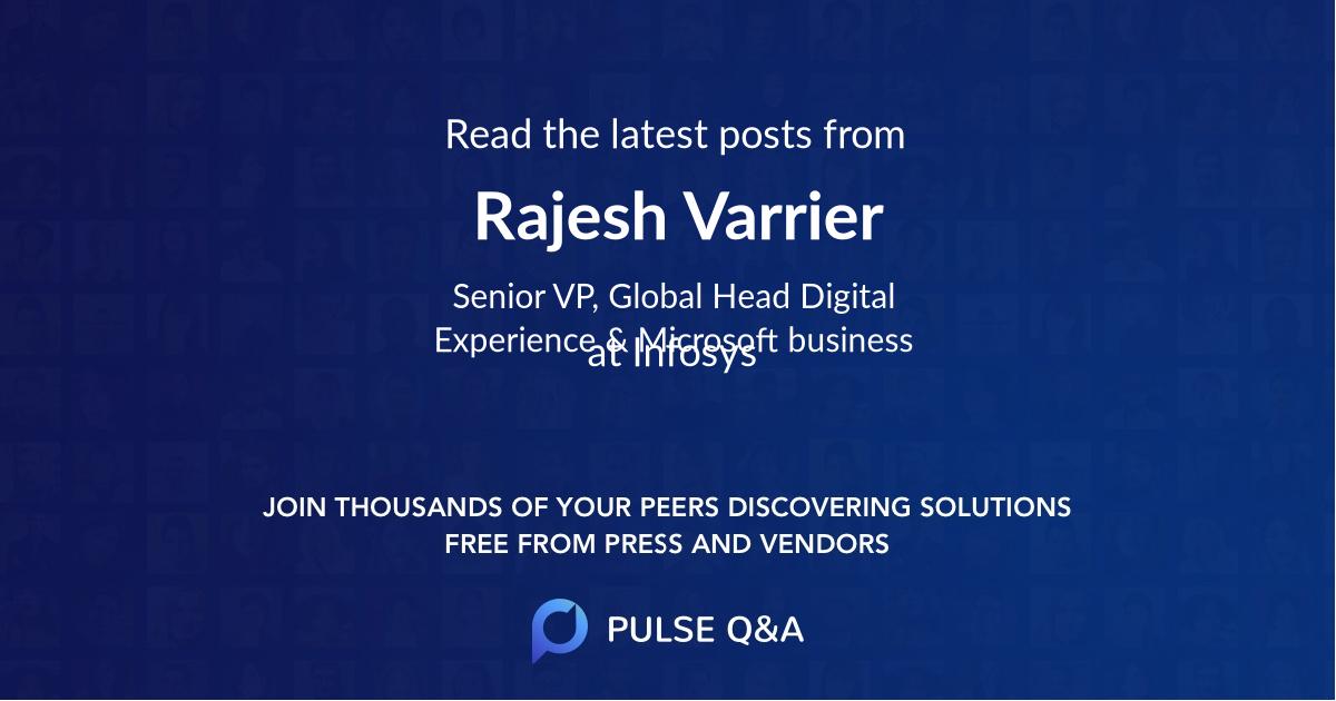 Rajesh Varrier