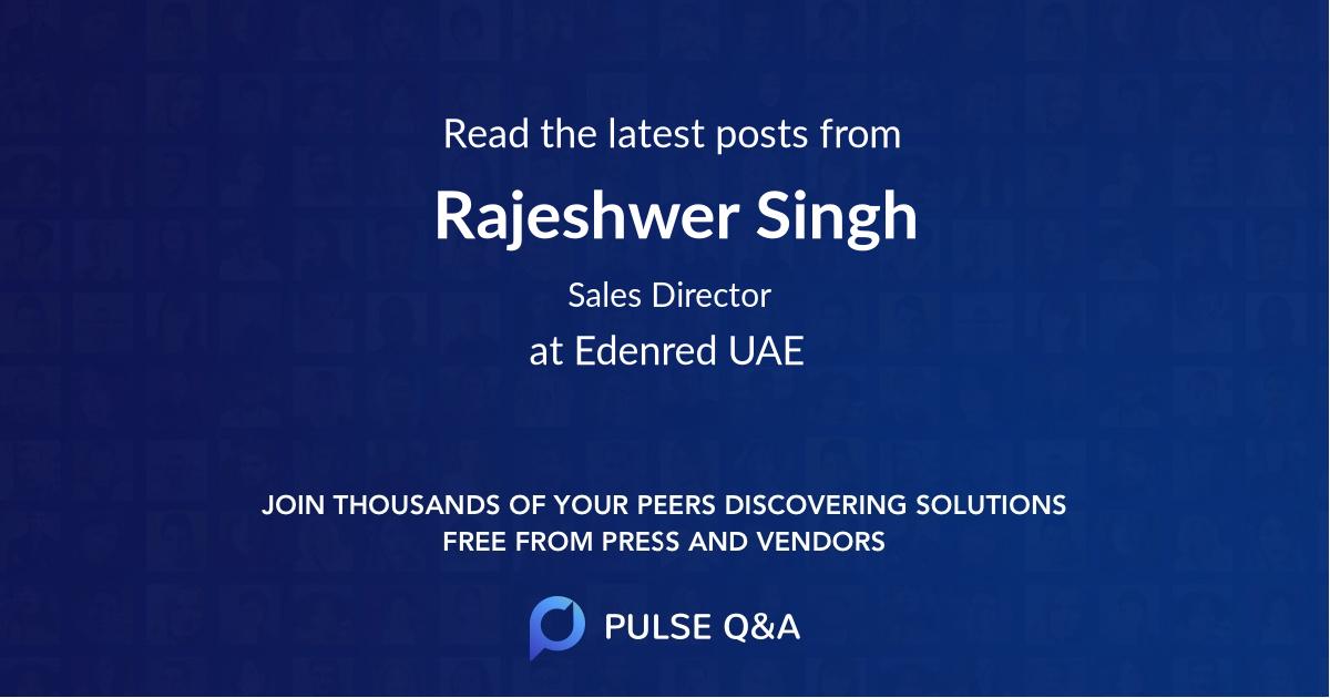 Rajeshwer Singh