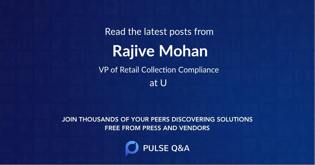 Rajive Mohan