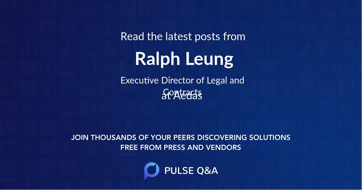 Ralph Leung