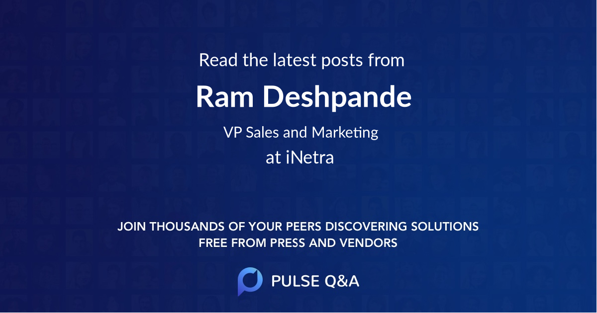 Ram Deshpande