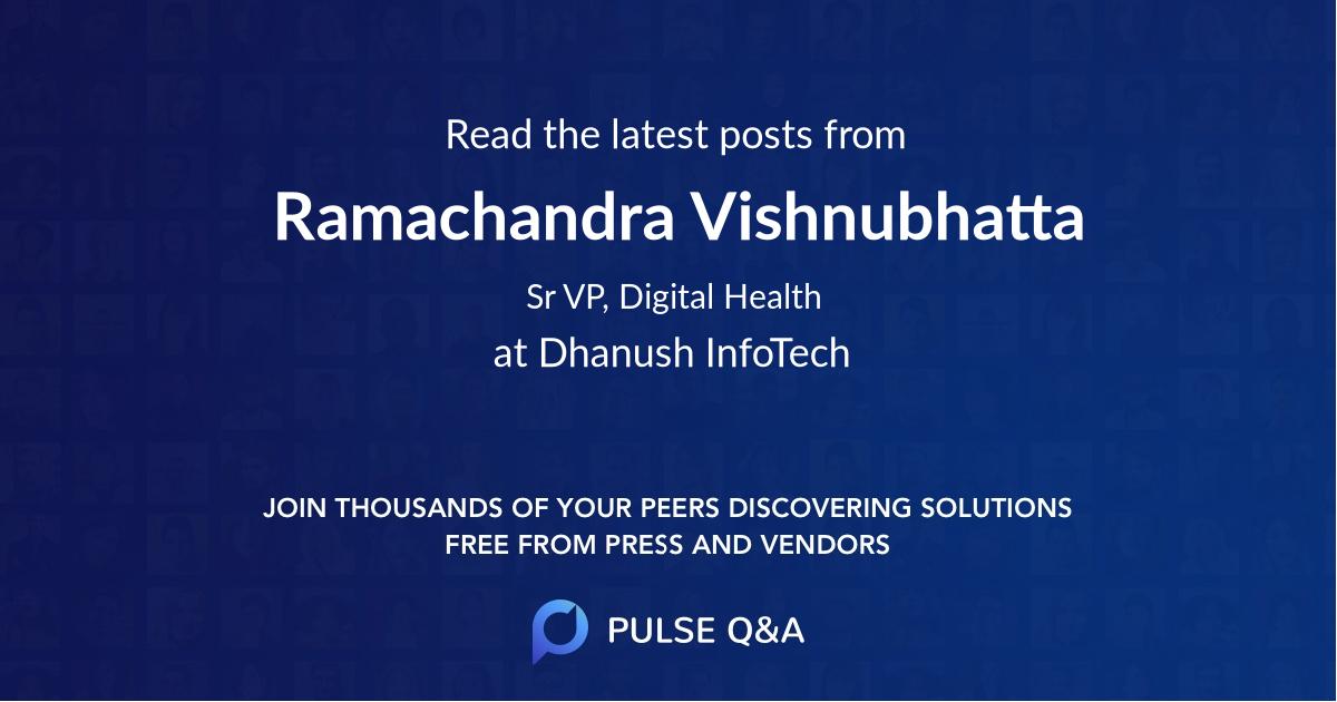 Ramachandra Vishnubhatta