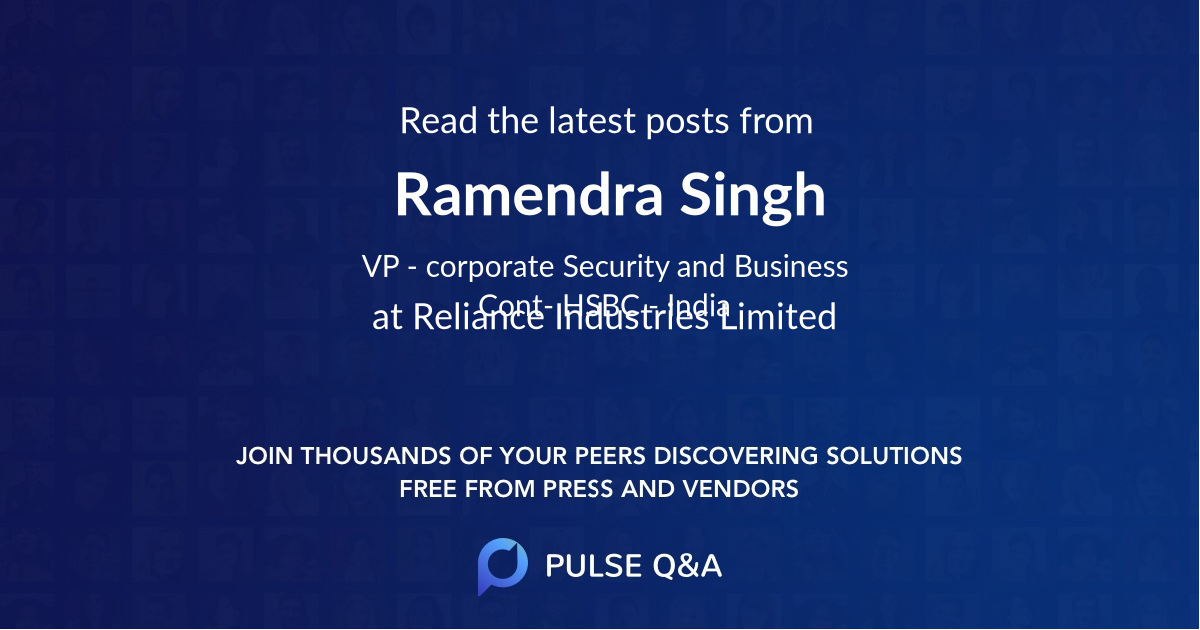 Ramendra Singh