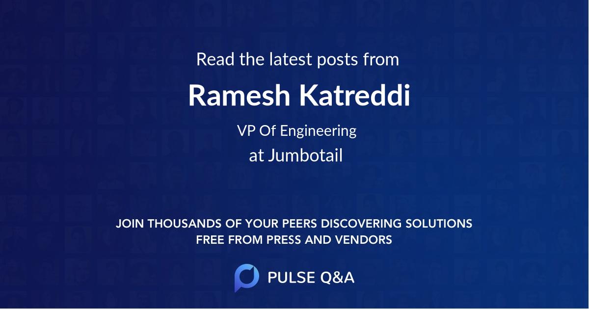 Ramesh Katreddi