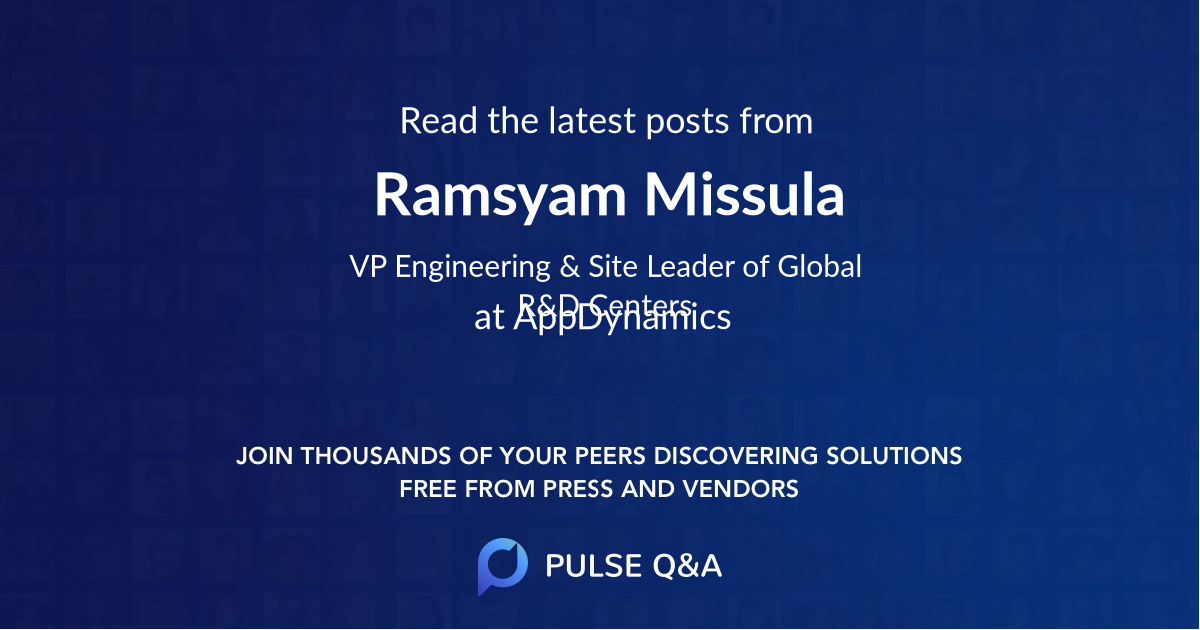 Ramsyam Missula