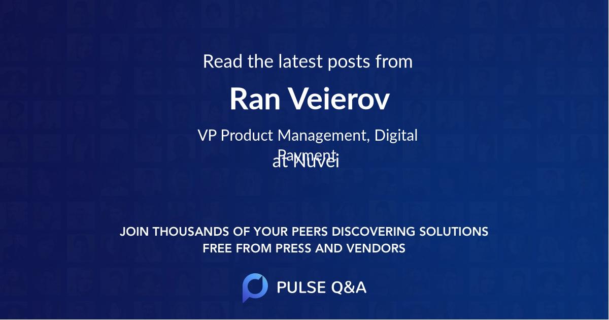 Ran Veierov
