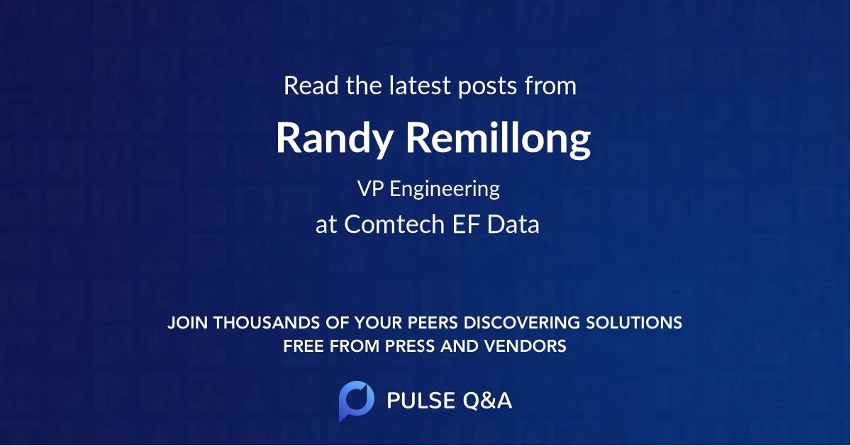 Randy Remillong