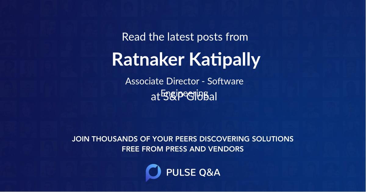 Ratnaker Katipally