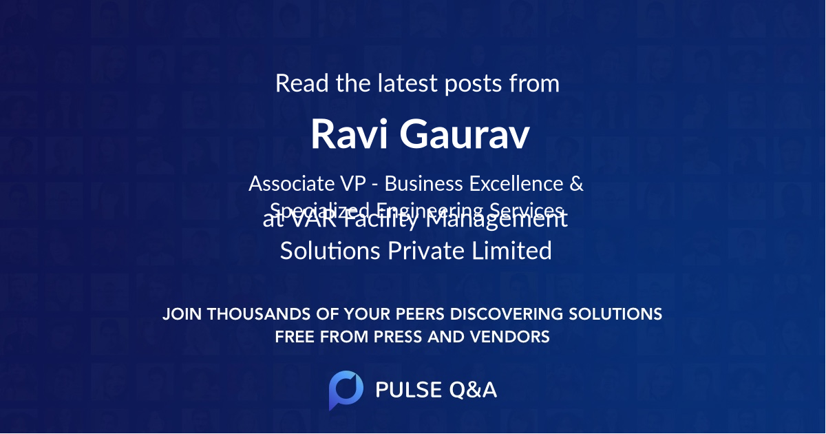 Ravi Gaurav