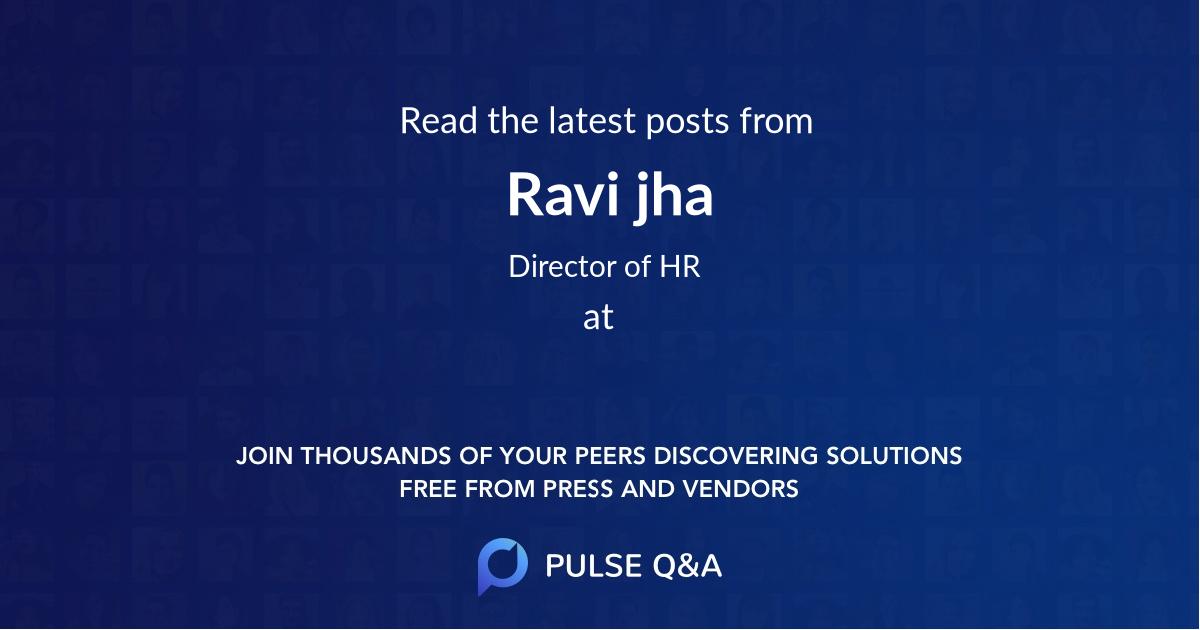 Ravi jha