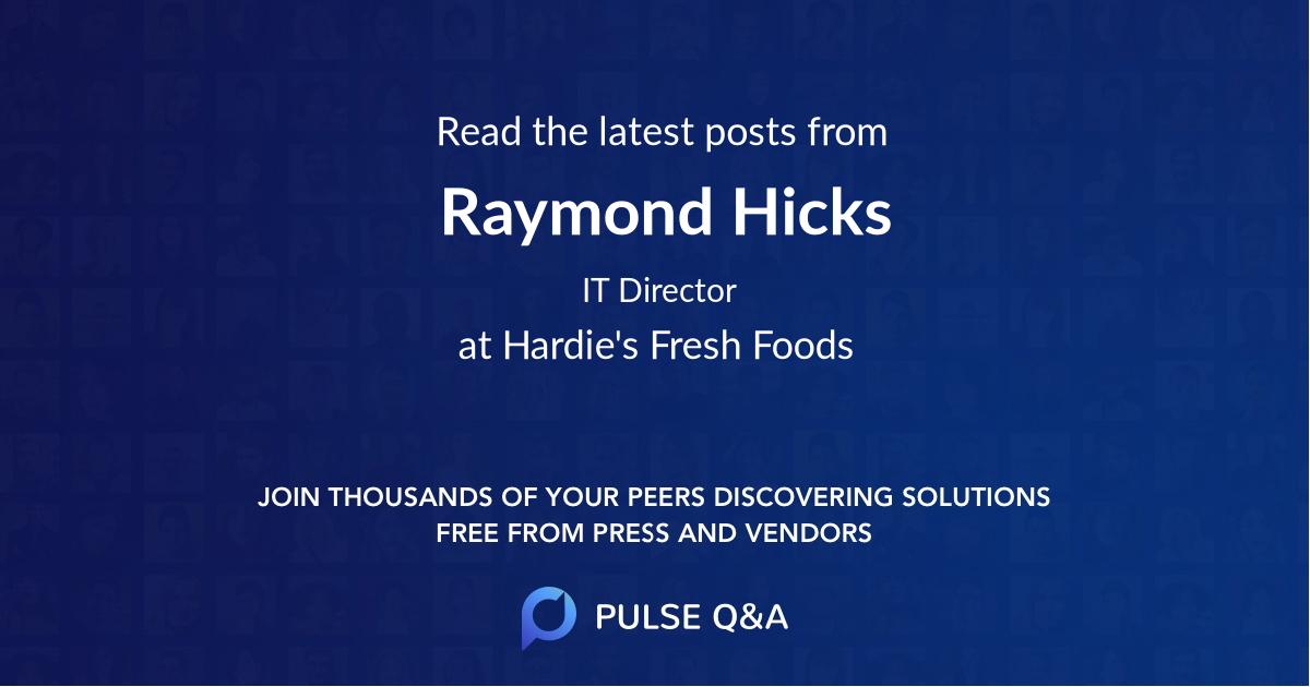 Raymond Hicks