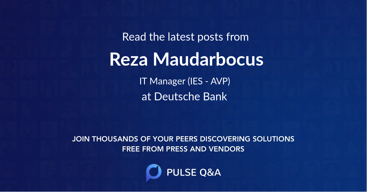 Reza Maudarbocus