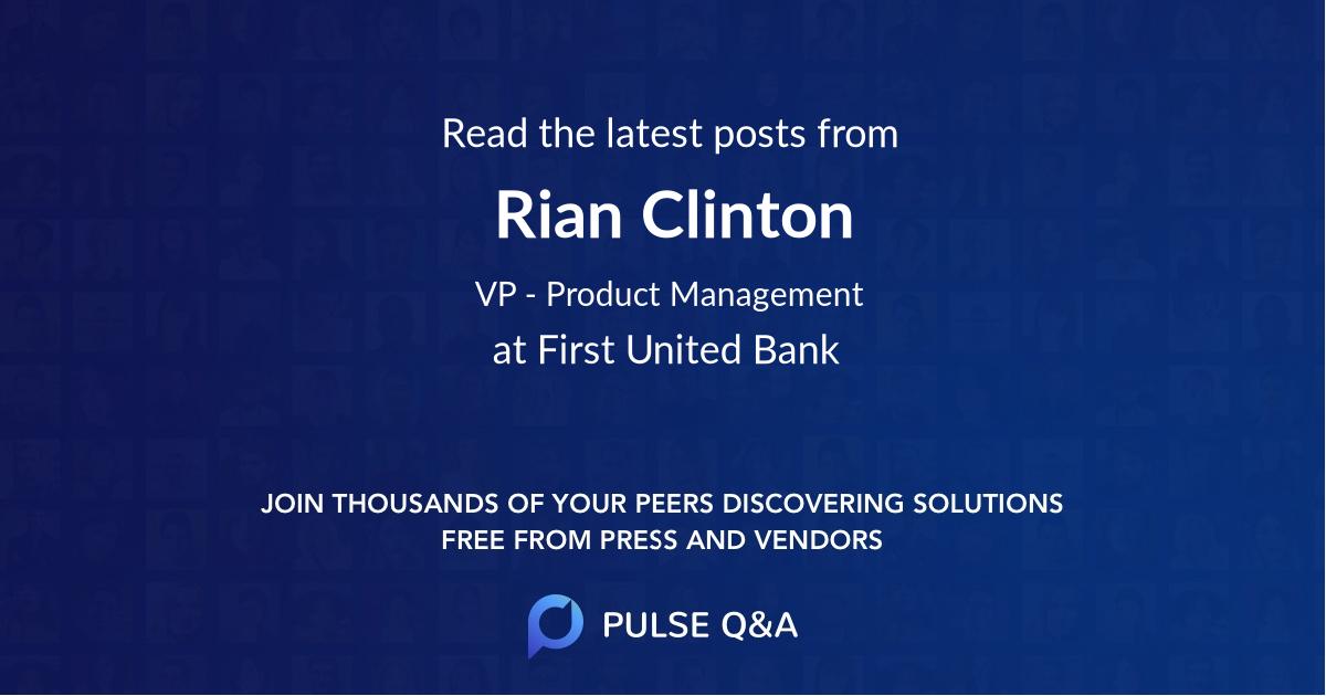 Rian Clinton