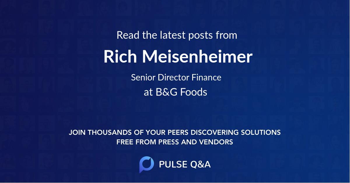 Rich Meisenheimer