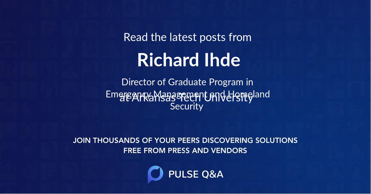 Richard Ihde