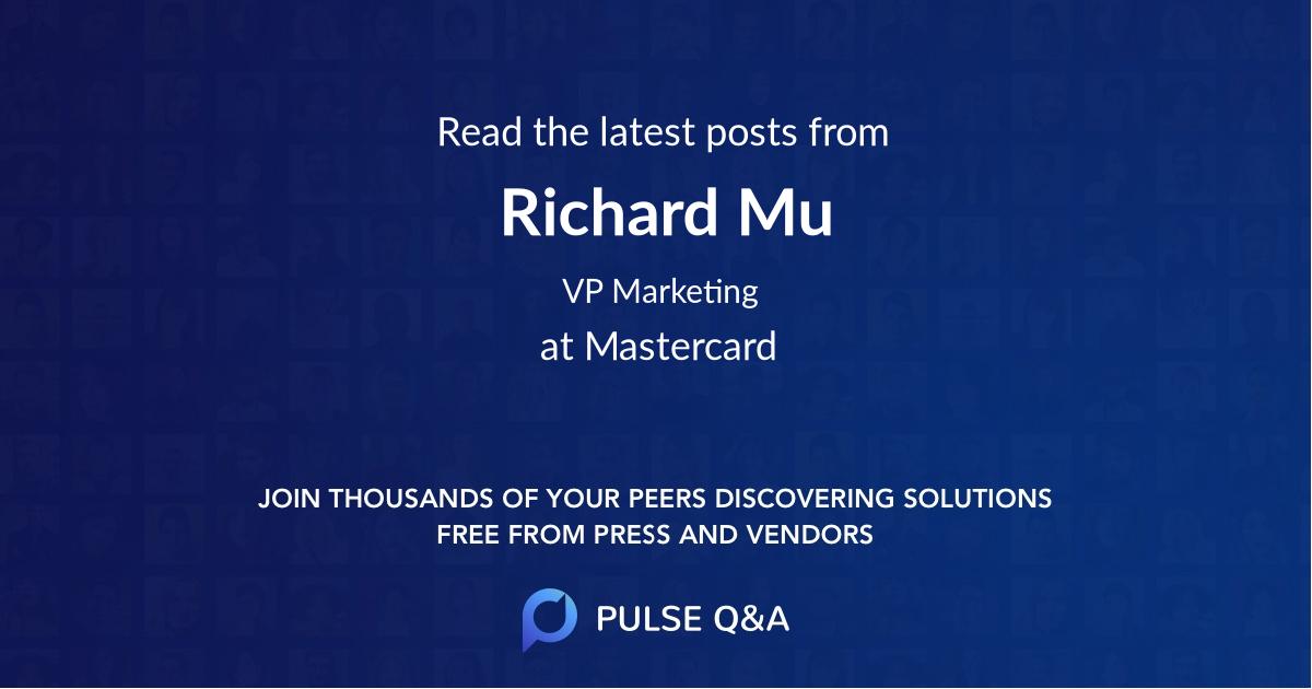 Richard Mu