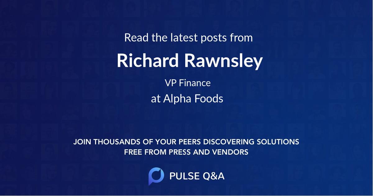 Richard Rawnsley