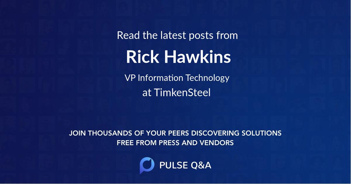 Rick Hawkins
