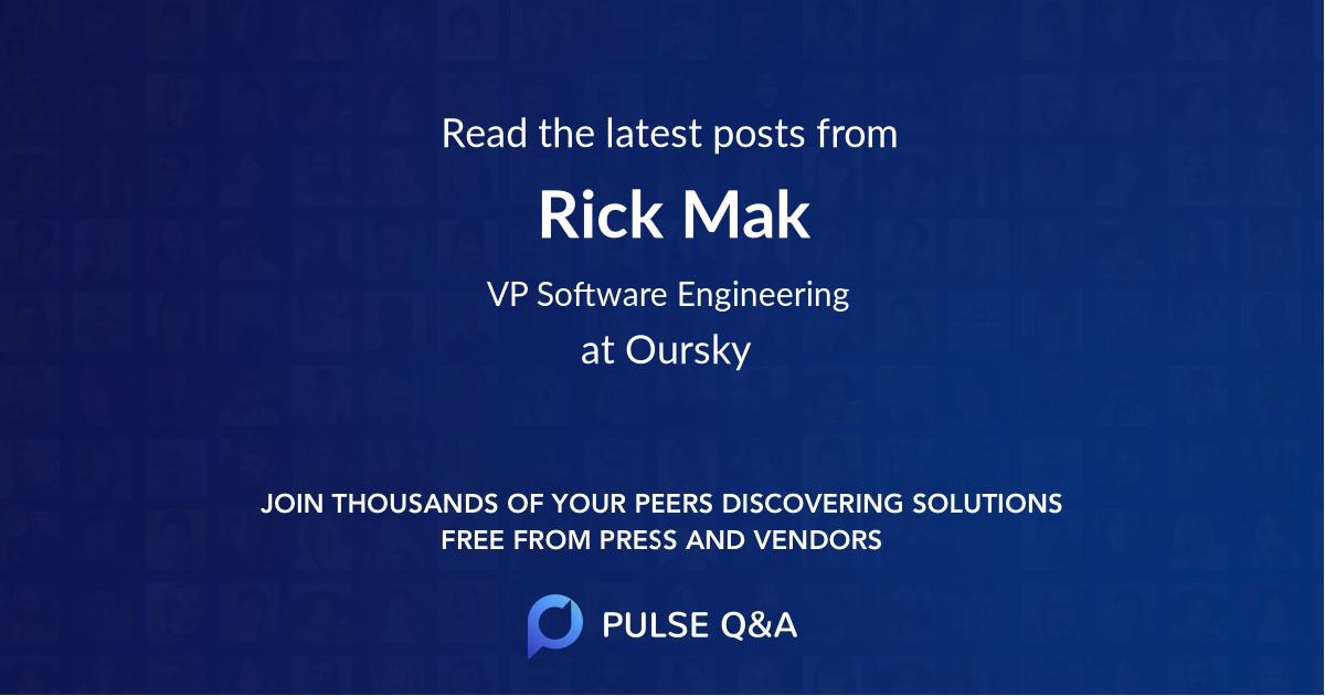Rick Mak