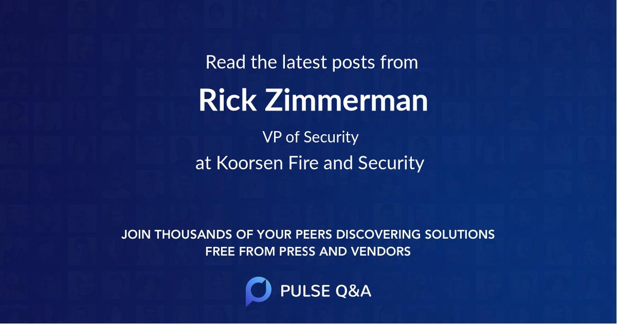 Rick Zimmerman