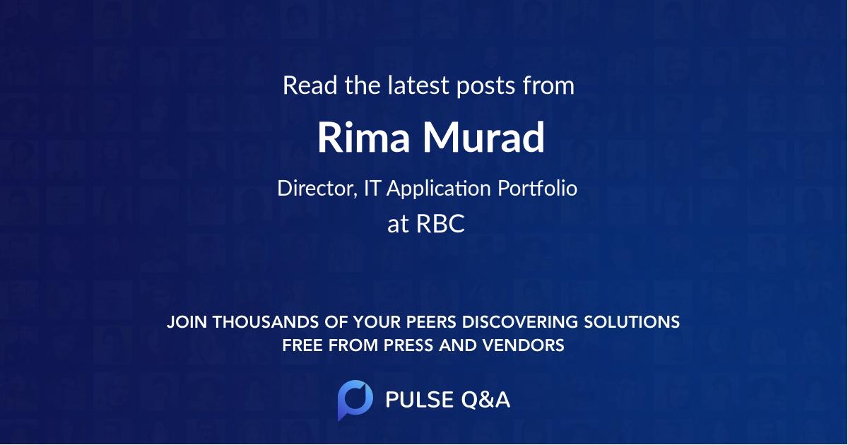 Rima Murad