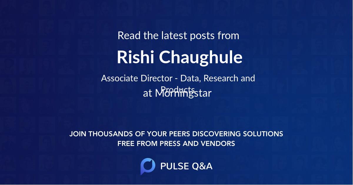 Rishi Chaughule