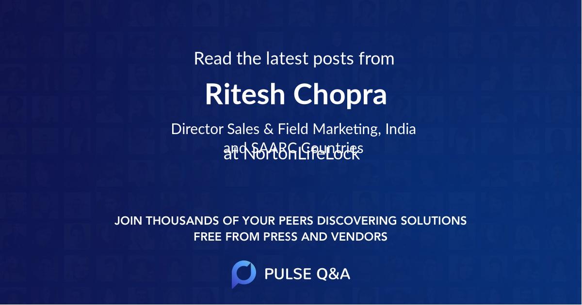 Ritesh Chopra