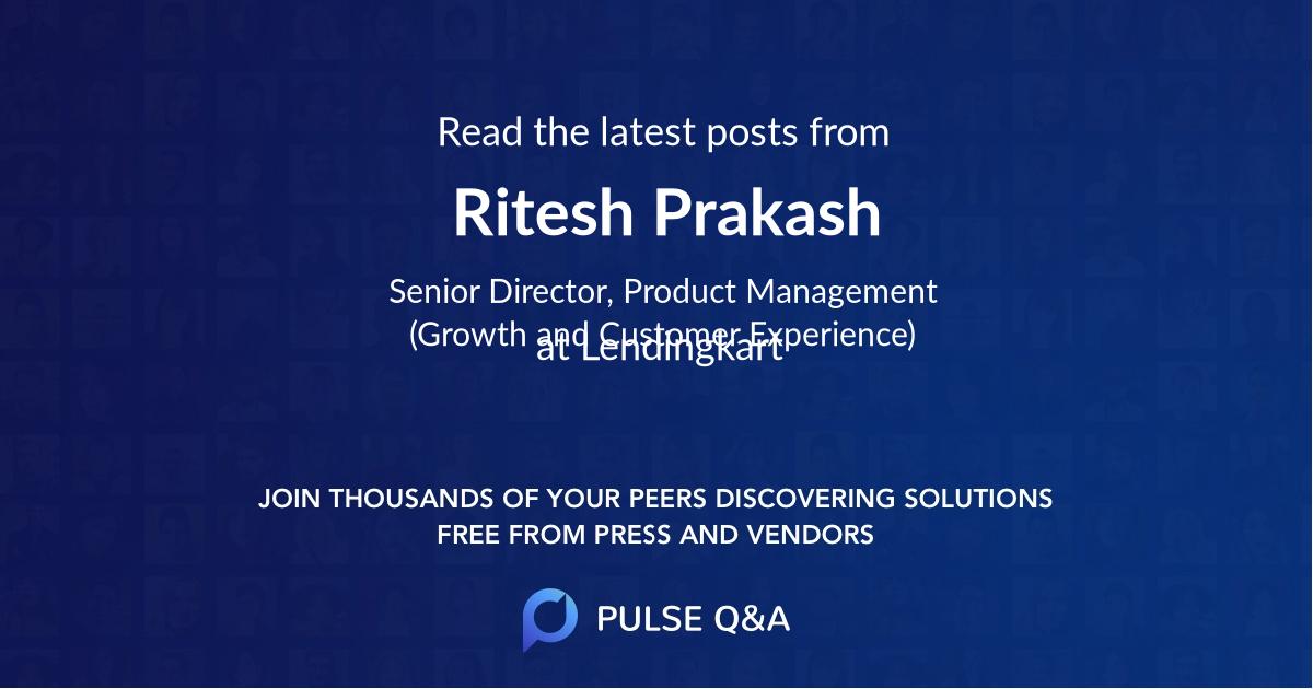 Ritesh Prakash