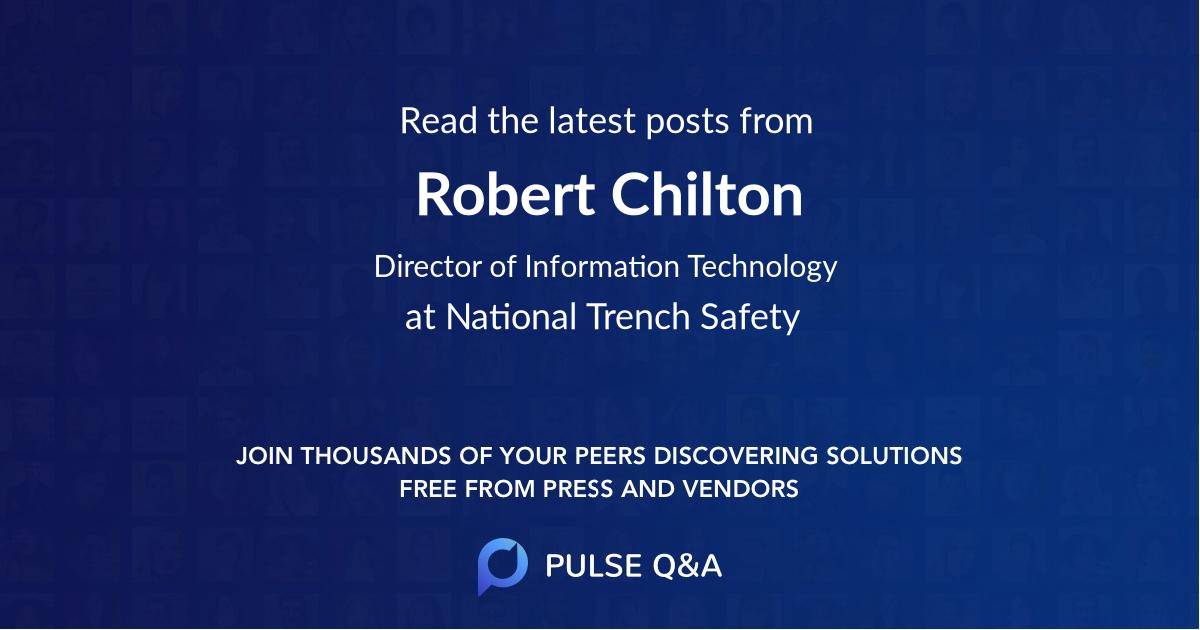 Robert Chilton