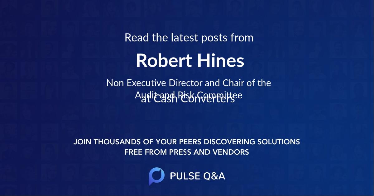 Robert Hines