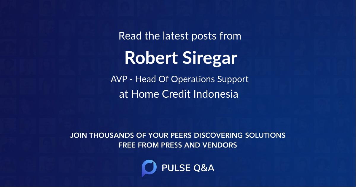 Robert Siregar