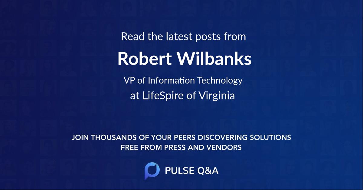 Robert Wilbanks