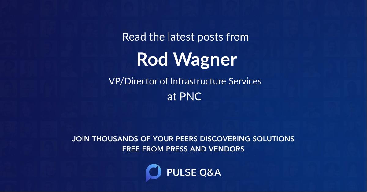 Rod Wagner
