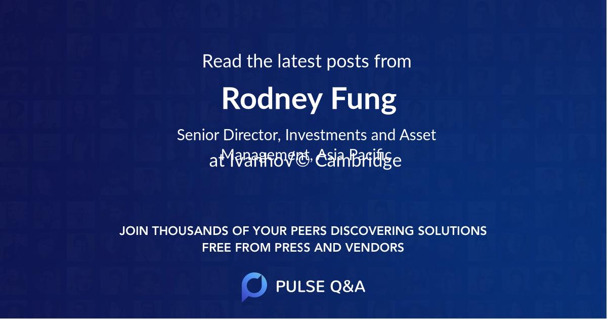 Rodney Fung