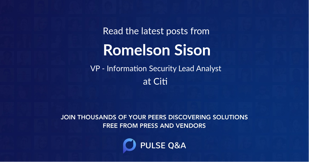 Romelson Sison