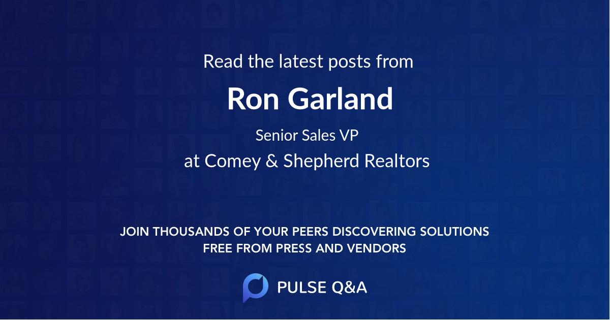 Ron Garland