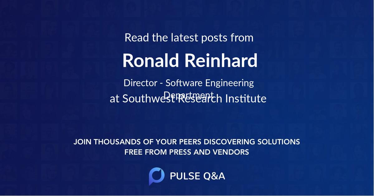 Ronald Reinhard