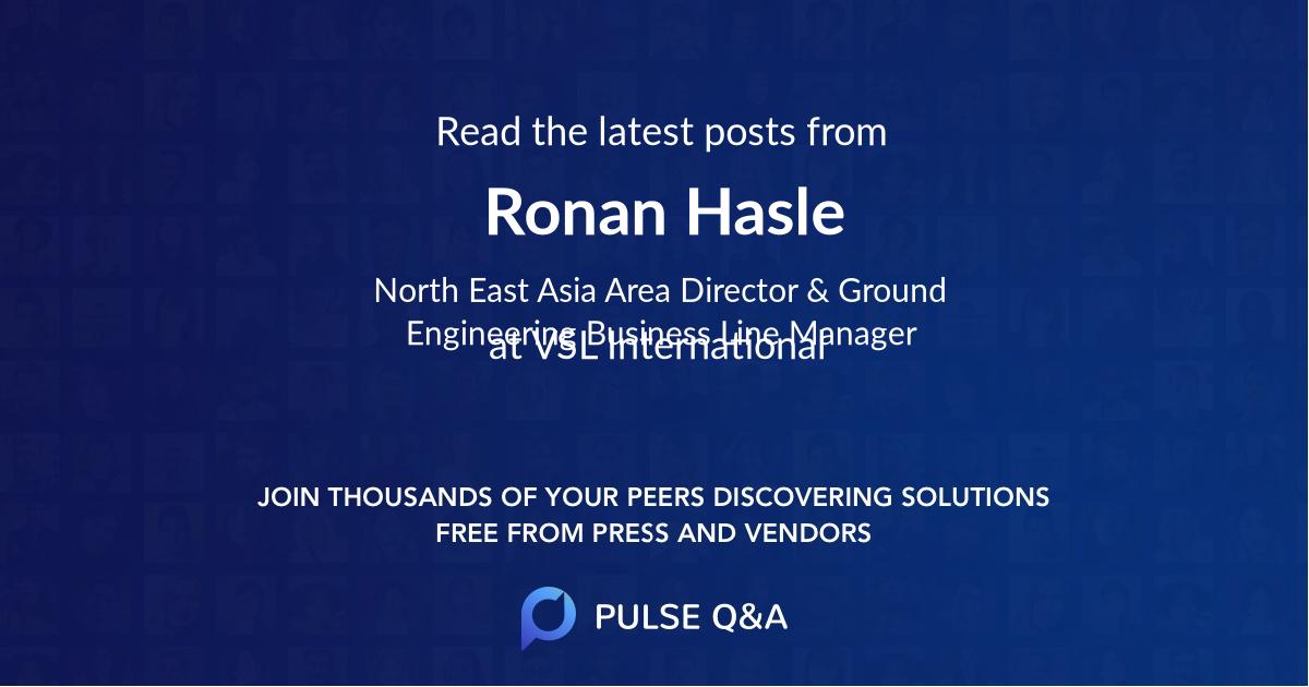 Ronan Hasle